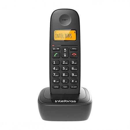 Telefone Sem Fio TS 2510 com Identificador de Chamadas Preto 4122510 Intelbras