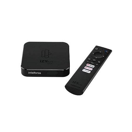 Smart Box Android TV IZY Play 4143010 - Intelbras
