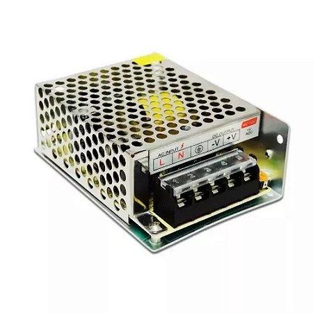 Fonte Gradeada CFTV Multicâmera 12Vcc 5A FS-308 com PSI - Fasgold