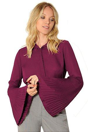 Camisa Tamires Marsala