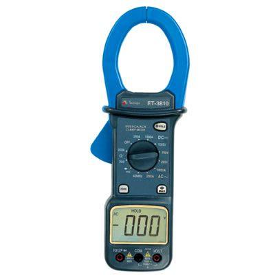 Alicate Amperímetro Digital ET-3810 Minipa