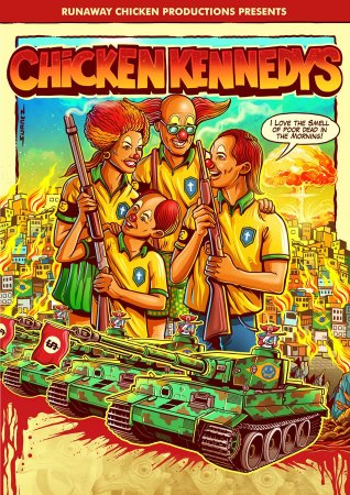 Poster - Chicken Kennedys - A2