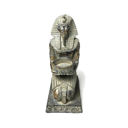Escultura Figura Egípcia em Resina