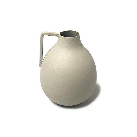 Vaso Fricotinho Marfim em Alumínio