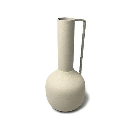 Vaso Fricote Marfim em Alumínio