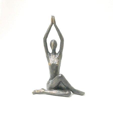 Escultura Posição Yoga