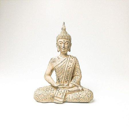 Escultura de Buda Dhyana Mudra