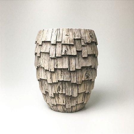 Vaso Casca de Árvore