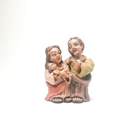 Sagrada Família em Barro P - Jorge da Cruz