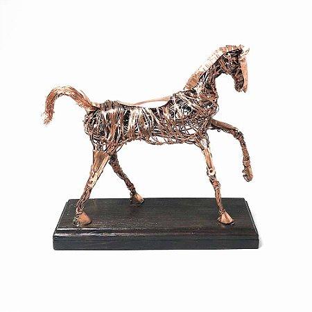 Cavalo em Cobre