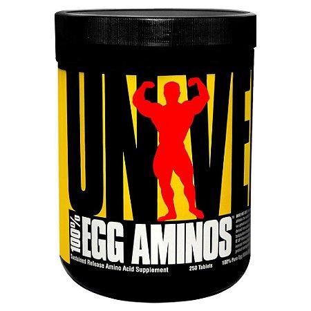 100% Egg Aminos 250cps - Universal Nutrition