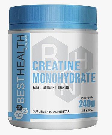 Creatine Monohidrata 240g - Best Health Nutrition