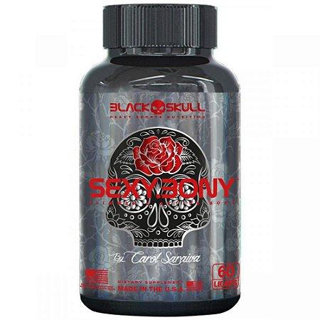 Sexybony 60cps - Black Skull