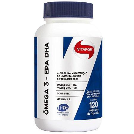 Omega 3 Epa Dha 120cps - Vitafor Nutrientes