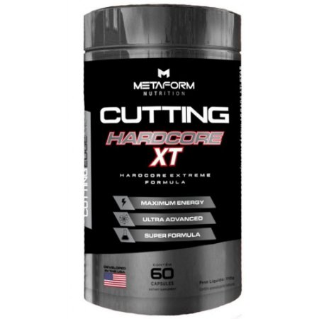 Cutting Hardcore XT 60cps - Metaform Nutrition