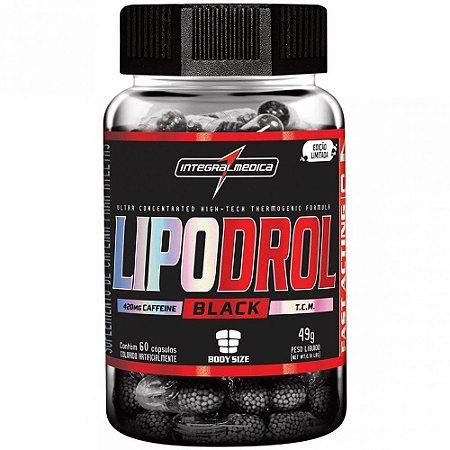 LipoDrol Black 60cps - Integral Medica