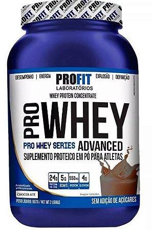 Pro Whey Advanced 907g - Profit Laboratorios