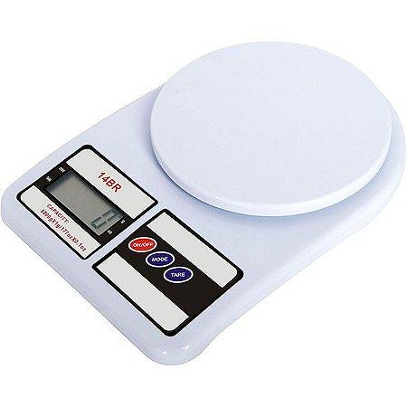 Balança digital p/ cozinha capacidade até 10kg