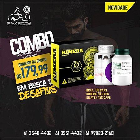 COMBO: Kimera 60cps + Dilatex 152cps + Bcaa 100cps