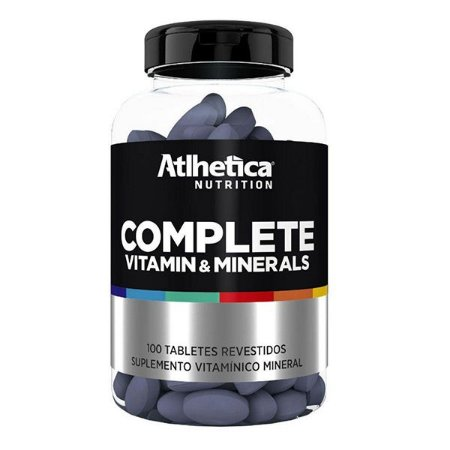 Complete Multi Vit 100cps - Atlhetica Nutrition