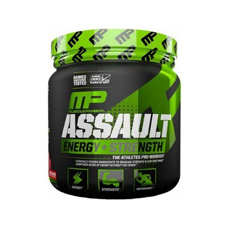 MP Assault Energy + Strength 345g -  Muscle Pharm