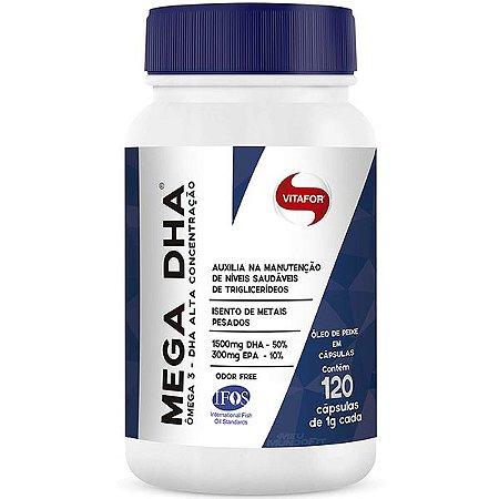Mega DHA 120cps - Vitafor Nutrientes
