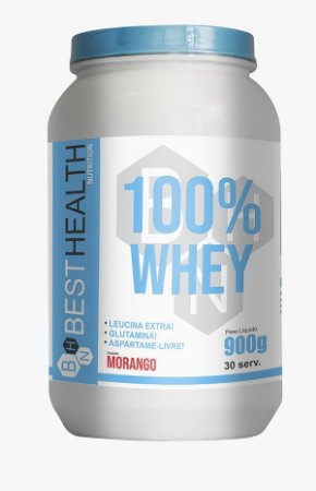 100% Whey 900g - Best Health Nutrition