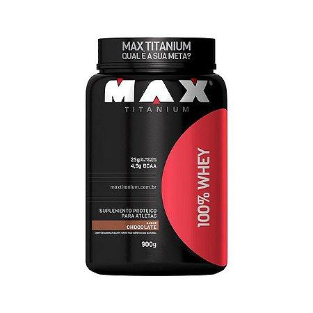 100% Whey 900g - Maxtitanium