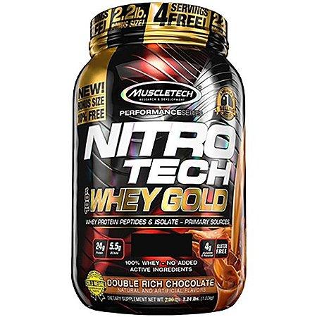 Nitro Tech Whey Gold 999g - Muscletech