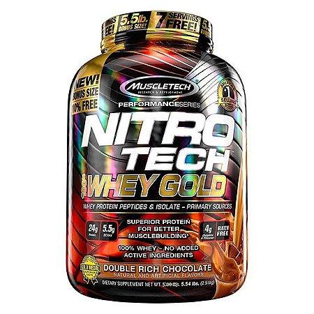 Nitro Tech Whey Gold 2510g - Muscletech