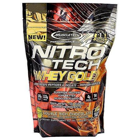 Nitro Tech Whey Gold 454g - Muscletech