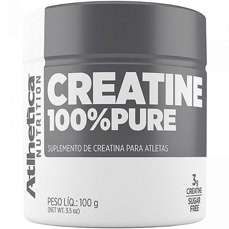 Creatine  100% Pure 100g - Atlhetica Nutrition