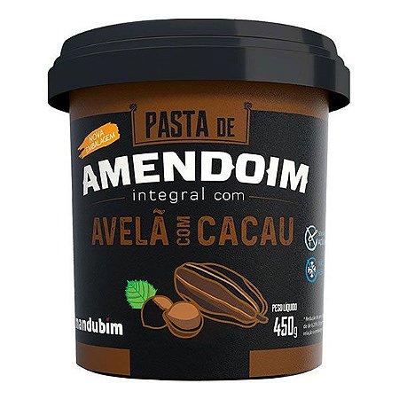 Pasta de Amendoim Avela com Cacau 450g - Mandubim