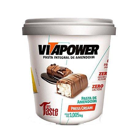 Pasta de Amendoim Press Cream 1,05kg - VitaPower