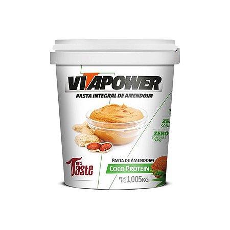 Pasta de Amendoim Coco Protein 1,05kg - VitaPower