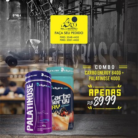 COMBO: Carbo Energy 840g + Palatinose 400g