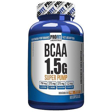 Bcaa 1.5g Super Pump 60cps - Profit Nutrition