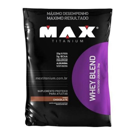 Whey Blend 2kg - Maxtitanium