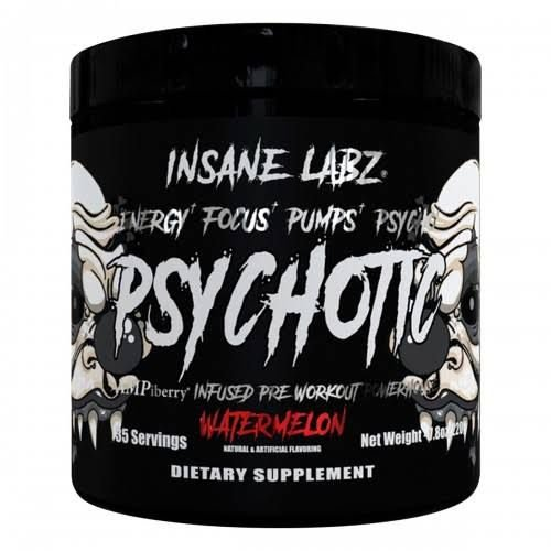 Psychotic Black Edition 35 Doses - Insane Labz