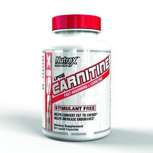Lipo 6 Carnitine 60 Caps - Nutrex