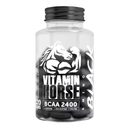 Bcaa Black 2400 120cps - Vitamin Horse