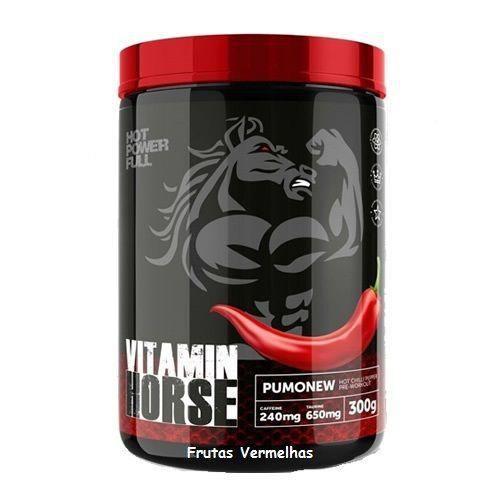 Pré-Treino Pumonew - 300g - Vitamin Horse