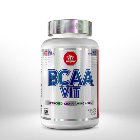 Bcaa Vit 100cps - Midway