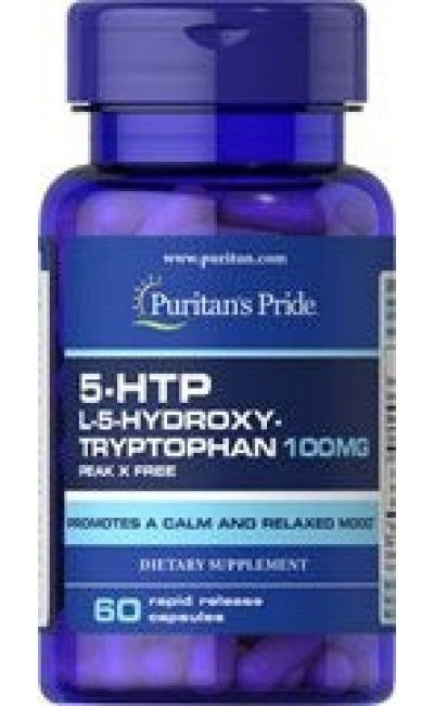 5-HTP 100mg 60cps - Puritans Pride