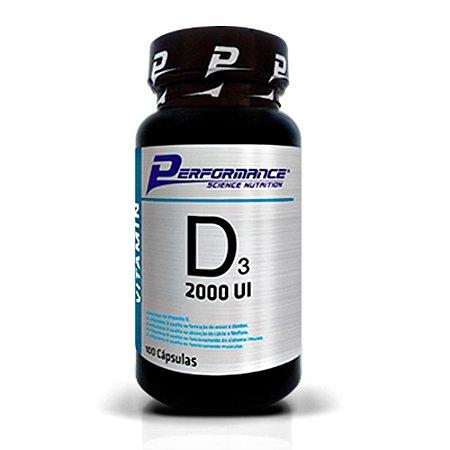 Vitamina D3 2000UI 100cps  - Performance Nutrition