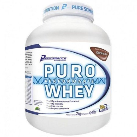 Puro Whey (Baunilha) 2kg - Performance Nutrition