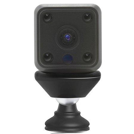 Mini Câmera Ip Hd Wifi Detecção Movimento Visão Noturna