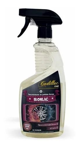 Ironlac Descontaminante de Superfícies  650ml Cadillac