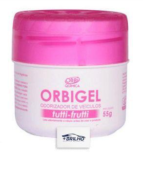 Odorizador de Veículo Orbigel Tutti Fruti