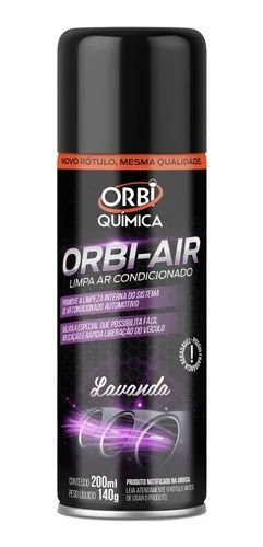 Higienizador de Ar Condicionador Orbi-Air Lavanda